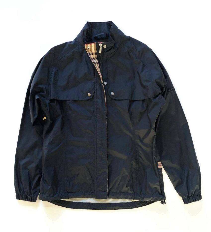 659b7bee016cf Burberry Golf Black Windbreaker Jacket