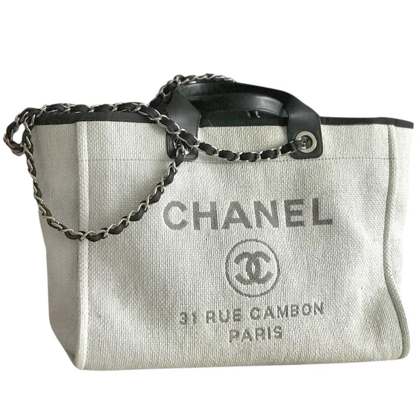 8f13886e1a09 Chanel Deauville Tote Bag