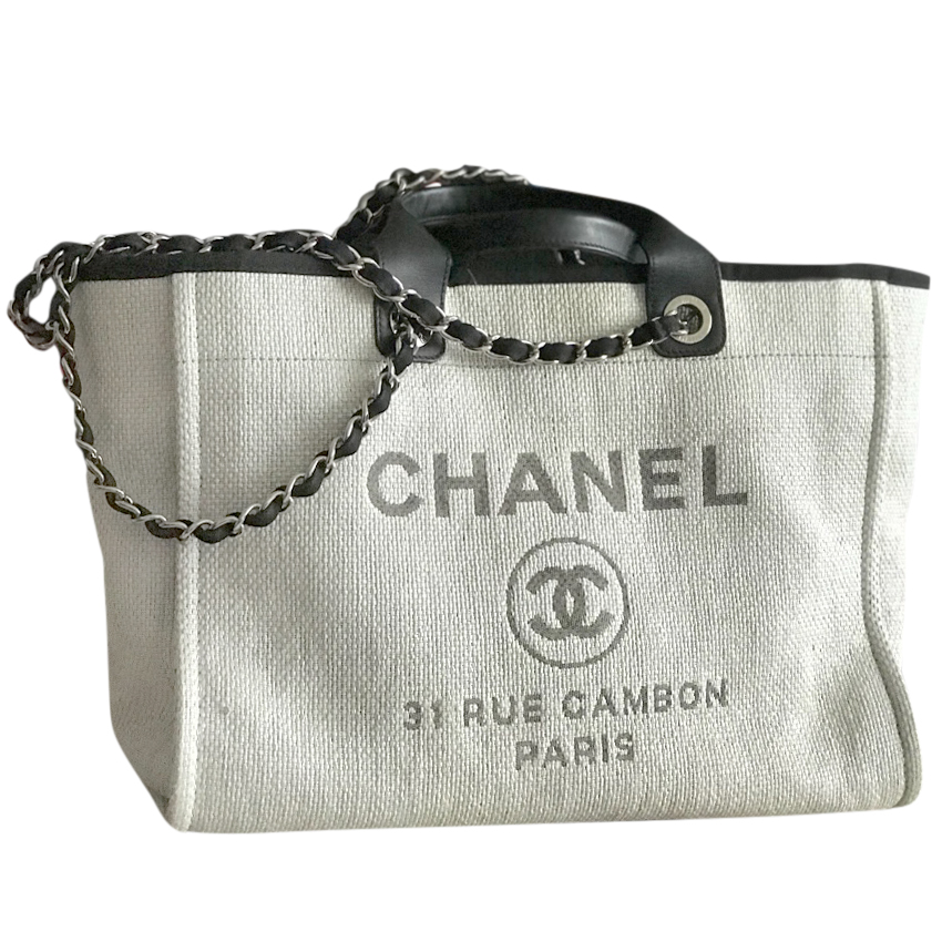 2781d389fca1 Chanel Deauville Tote Bag   HEWI London