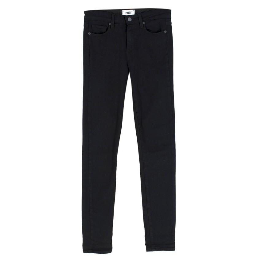 Paige Black Hoxton Ultra Skinny Jeans
