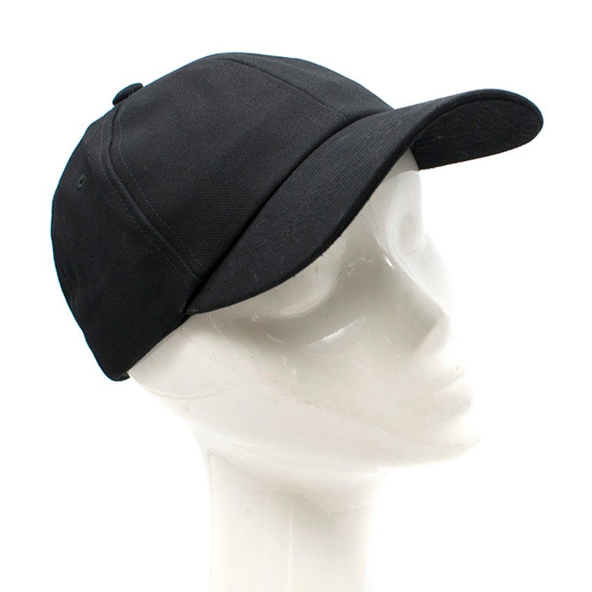 A.P.C. black canvas cap