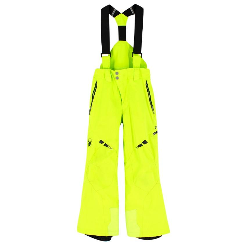 Spyder children's age 8 ski salopettes