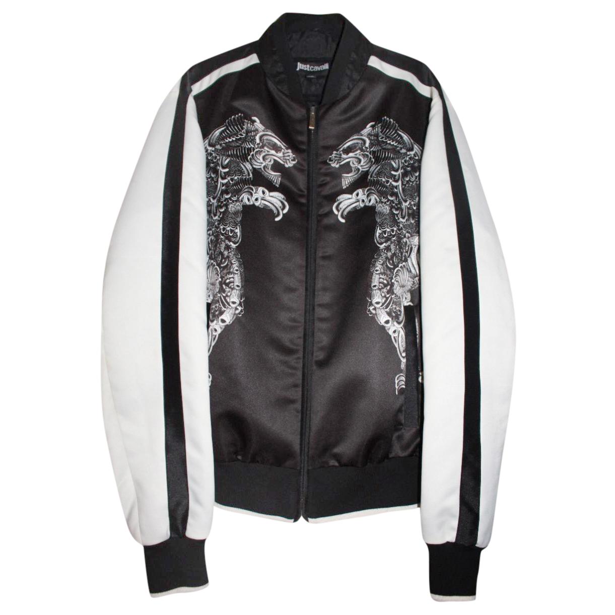 JUST CAVALLI Printed bomber jacket