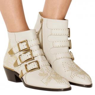 Chloe Susanna Studded Ankle Boots