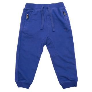Burberry Boy's Blue Joggers