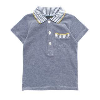 Fendi boys 18 months short-sleeved polo shirt