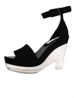 Stella McCartney Lucite Platform Tess sandals