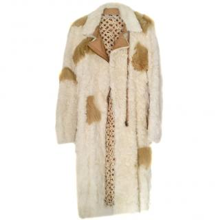 Fendi Fendissime Fine Shearling Coat