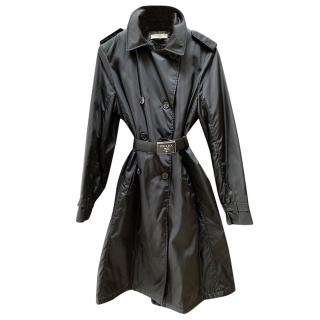Black Prada Rain/Trench Coat