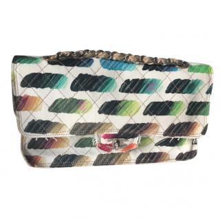 Chanel limited edition paint palette flap bag