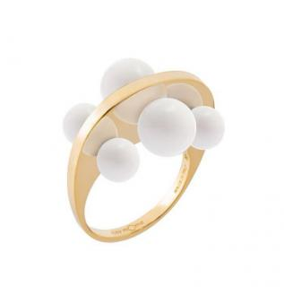 May Moma White Cintrarie Sphere Ring