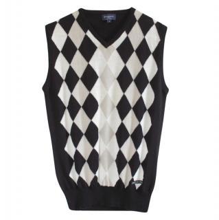 Burberry Merino Wool Vest