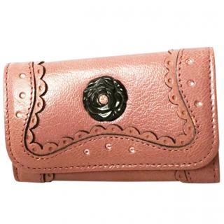 Anna Sui leather key holder