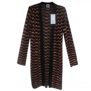 M Missoni Crochet wool-blend cardigan