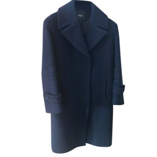 Maje Blue Coat