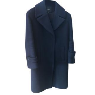 Maje Blue Coat