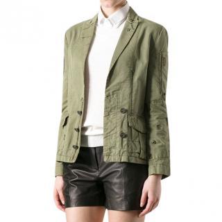 Zadig & Voltaire Military Style Blazer