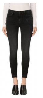 J Brand Capri Mid Rise Black Jeans - Size 29
