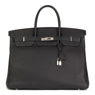 Hermes Black Togo Leather Birkin 40cm