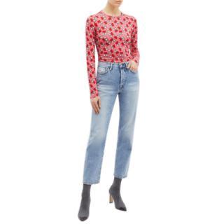 Keith Haring x Alice + Olivia Delaina Crop Top- New Season