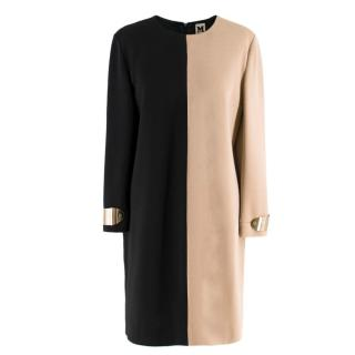 M Missoni Black & Beige Contrast Dress