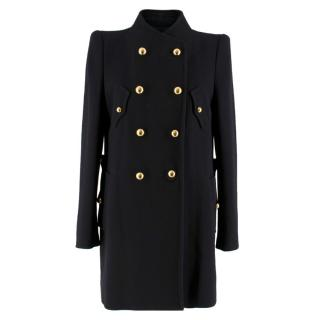 3.1 Phillip Lim Black Wool Double Breasted Coat