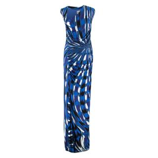 Emilio Pucci abstract-print maxi dress