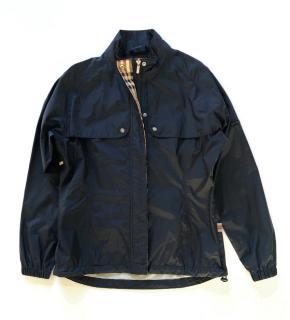 Burberry Golf black windbreaker jacket
