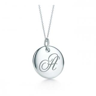 Tiffany & Co. Notes A Charm Pendant Necklace