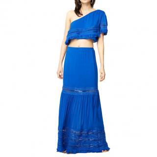Ramy Brook Blue Diona Skirt