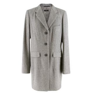 Riani Grey Knit Coat