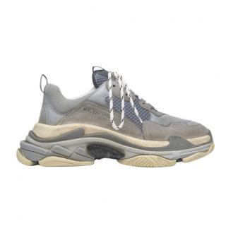 Balenciaga Grey Triple S Trainers
