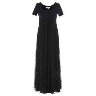 Jasper Conran vintage empire waist black dress