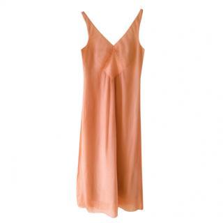 Maison Martin Margiela Peach Silk Dress