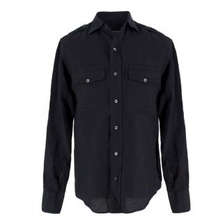 Tom Ford linen & cotton-blend shirt
