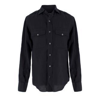 Tom Ford linen & cotton-blend shirt