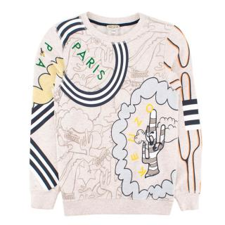 Kenzo Kids Cartoon Sweatshirt