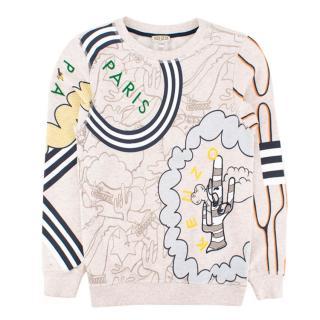 Kenzo Kids Cartoon Sweatshirt