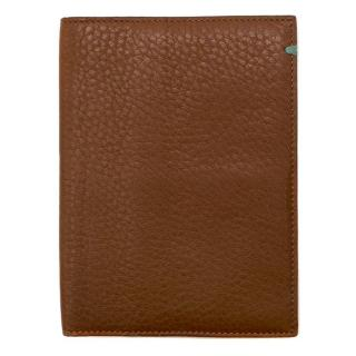 Tiffany & Co. grained leather passport holder