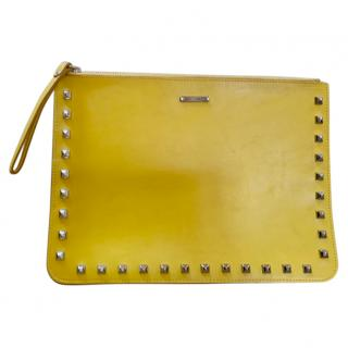 Rebecca Minkoff Studded Yellow Purse Bag