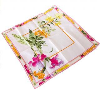 Leonard Paris floral small neckerchief
