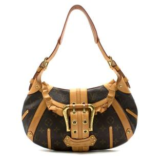 Louis Vuitton Limited Edition Vintage Monogram Canvas Leonor Bag