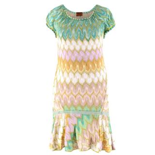 Missoni short-sleeved knit dress