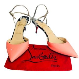 Christian Louboutin Neon Pink Sandals