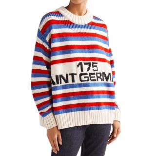 Sonia Rykiel oversized intarsia sweater- Current Season