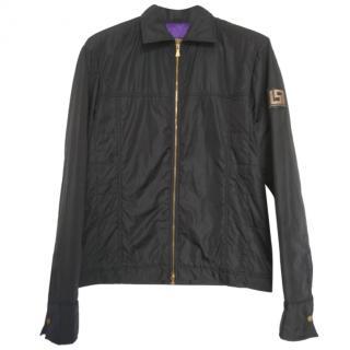 Versace Jeans lightweight black bomber jacket