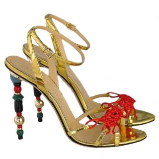 Charlotte Olympia Imperial Heel Sandals