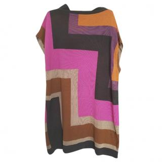 M Missoni multicolour sleeveless wool tunic