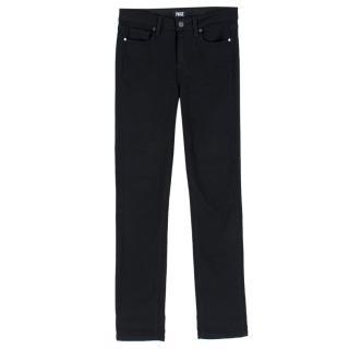 Paige Black Hoxton Straight Jeans