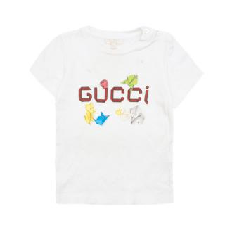 Gucci origami animal-print 18/24 months T-shirt